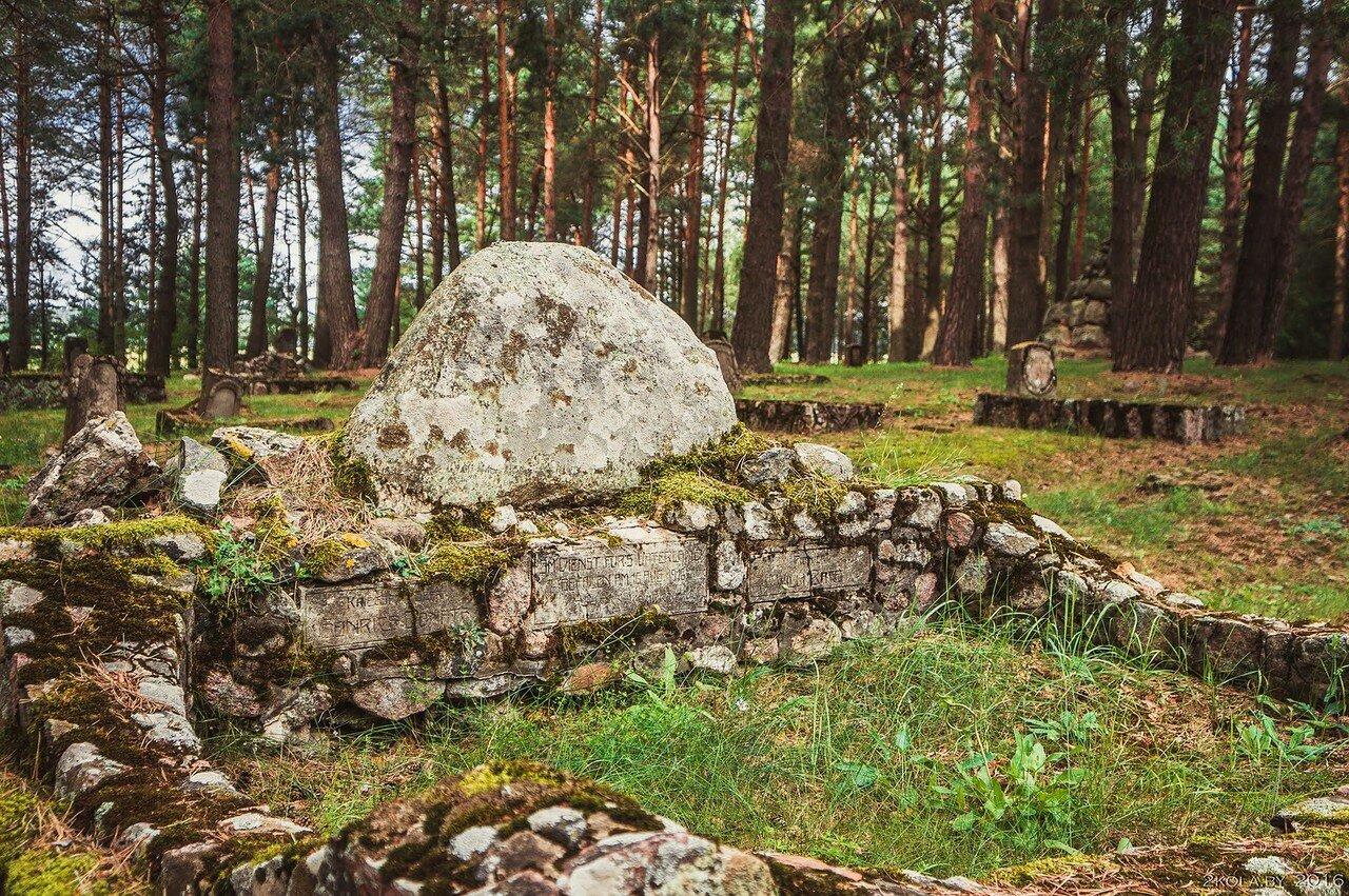 офицерские могилы
